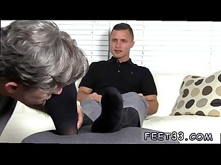 Gay porn boy sport naked tommy makes tenant worship his feet