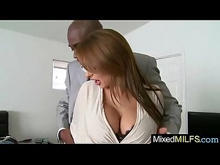 (alison star) Milf Enjoy Hard Ride On Big Monster Black Dick video-01