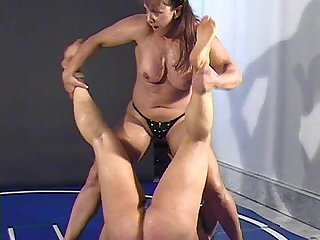 Nina vs china topless fbb catfight