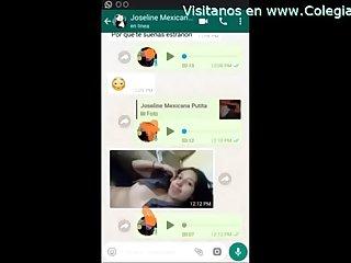 Mi Novia me manda videos baandose y masturbandose por whatsapp se viene riquisimo excl excl