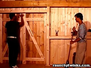 Barn Teens Go Gay And Do Wild Bareback Anal Fucking