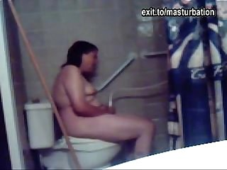 Eline colon masturbating on the toilet