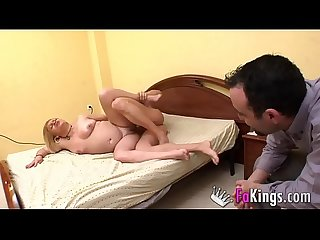 'Honey, I want you to fuck this male porn performer'. Real couple fulfills her..