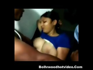 Desi indian girlfriend get fucked and blowjob by her boyfriend