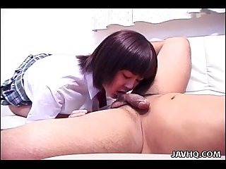 Asian school girl Rynzaki Nanaha hardcore!