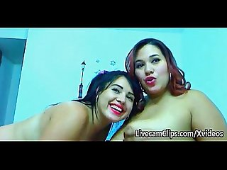 Amateur busty latinas girl on girl sex on cam
