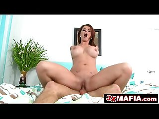 Sexy Redhead MILF with Huge Tits Joslyn James Finds Herself Some Good Company