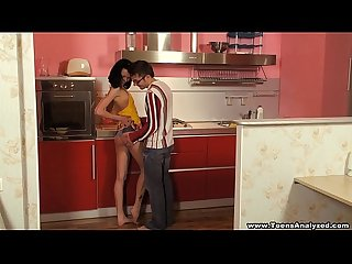 Teeny ass Katy tube8 ass-fuck xvideos on the kitchen table redtube teen porn
