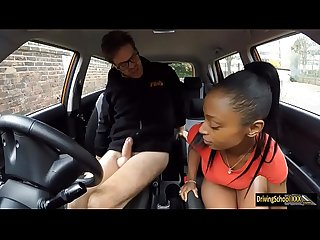 Black girl Lola Marie fucked in FDS car