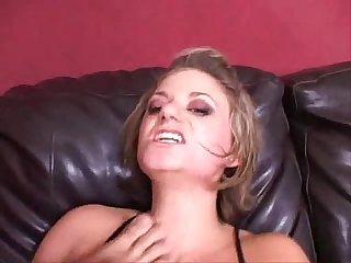 Girl lick male feet