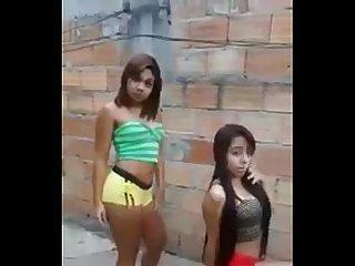 Brasilian brazilian teens lap dance baile Twerk perreo