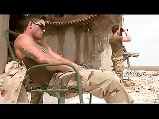 Hottest homosexual scene with outdoor Military scenes