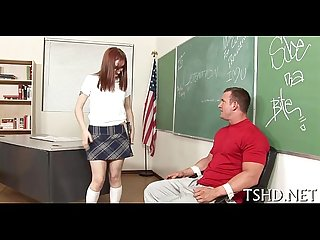Unfathomable in schoolgirls cum-hole