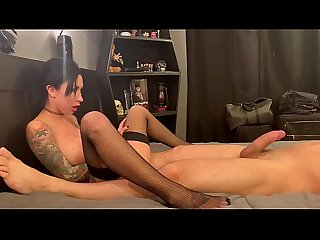 Lily Lane Teasing and Edging a thick cock