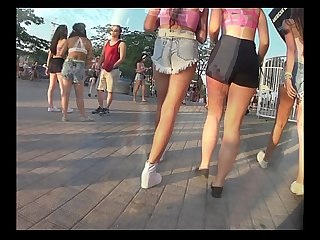 Three teens in shorts www pervertmania com