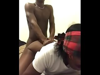 Ebony MILF Cheats on her man with the Neighbors Black Dick