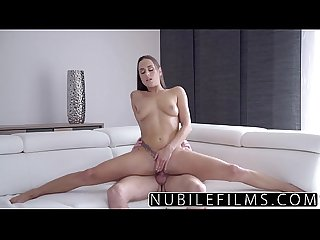 Nubilefilms hardcore creampie for college babe