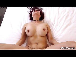 Sexy mature latina milf anal fucks young cock