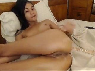 Horny asian chick exposes hot body more sexyasiancams mooo com