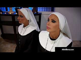 Penthouse pet Nikki benz jessica jaymes banged as nuns