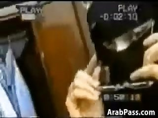 Arab couple make a homemade sex tape