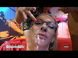 German goo girls facial cumshots compilation