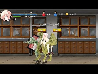 Adult Xxx hentai game fighting girl mei stage 2 girl in sex with monsters