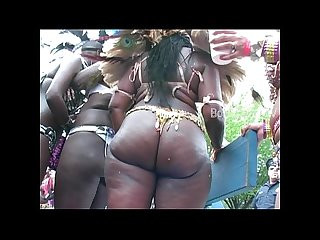 Big booty booties shakin west indian labor day caribbean parade