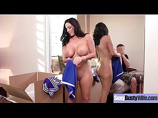 Sexy Housewife (Veronica Rayne) With Big Jugss Nailed Hardcore On Cam vid-29