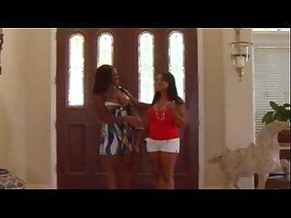 Two Hot ebony Lesbians