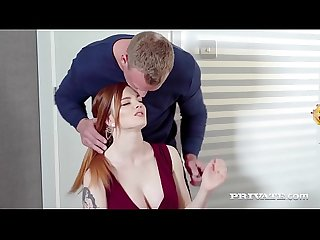 Private.com - Gorgeous Redhead Carly Rae Fucks At Breakfast!