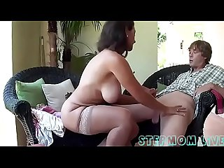Busty stepmom stepson affair stepmom live