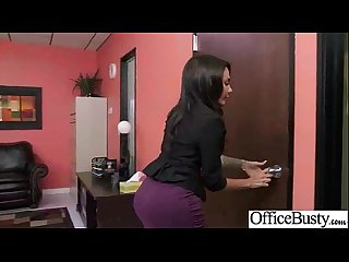 Hard Sex With Busty Slut Office Worker Girl (lela star) video-20