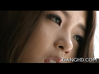 Hot asian s lusty bang