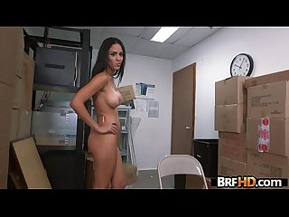 Amateur latin babe jasmine caro first time on camera casting 1 period 2