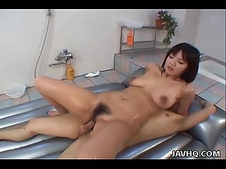Mika kurokawa blowjob and creampie