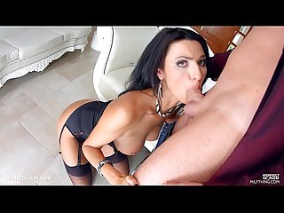 Milfthing stunning brunette milf ania kinski gets drilled pretty good by a big c
