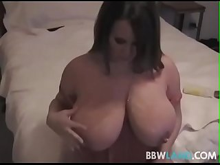 Busty pornstar brandy talore titty fucks a fan
