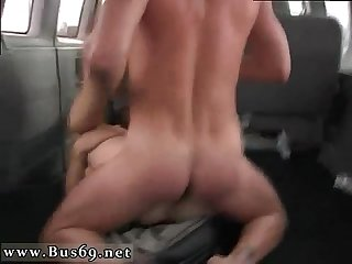 Straight guy made eat cum gay xxx James