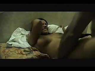 Indian mulsim wife fucked by black cock and blowjob