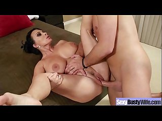 Busty Hot Sexy Wife Love Sex On Camera vid-03