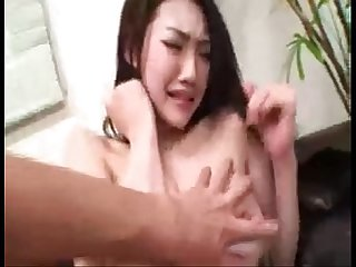 asian model tricked on camera session