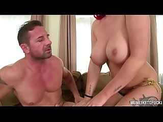 Big titty rockstar mom paige delight goes wild for anal