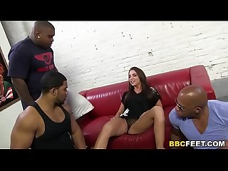 Giselle Leon Interracial Foot Fetish