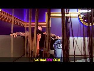 Blow me pov strippers do suck dicks like pros