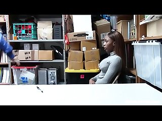 Black teen employee caught stealing from the register