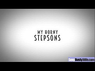 Busty Housewife (alexis fawx) Enjoy On Cam Hardcore Sex movie-01