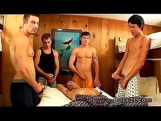 Naked emo boy gay One by one, Jeremiah, Riley & Mike all join in,