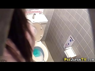 Asians piss in toilet