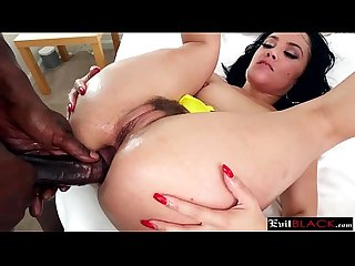 Stunning milf brunette sodomized by evil monster black cock partner8p 3